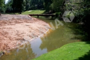 Tvenkinio kranto formavimas