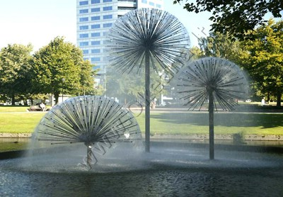 Lauko fontanai