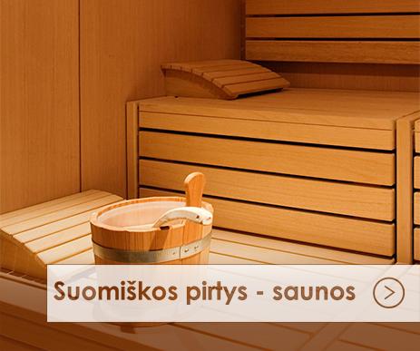 Suomiskos pirtys saunos