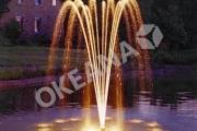 Plaukiojantis lauko fontanas