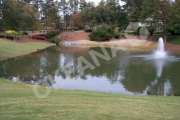 Tvenkinys su fontanu