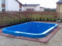 Projektai - Plastikinis lauko baseinas