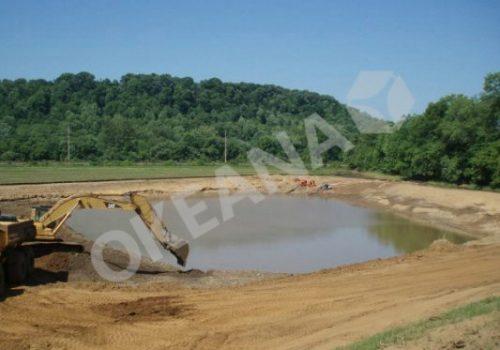 Tvenkinio kasimas ir formavimas. Projektas #31
