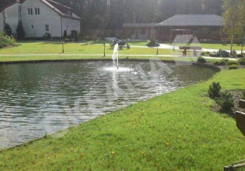 Tvenkinys su fontanu. Projektas #37
