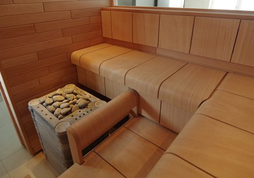 Pirtis - sauna. Projektas #60